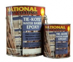 Tie-Kote Water Based Epoxy Primer/Sealer Gallon Kit