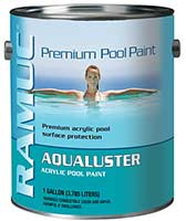 Ramuc Aqualuster Acrylic Water Based Pool Paint
