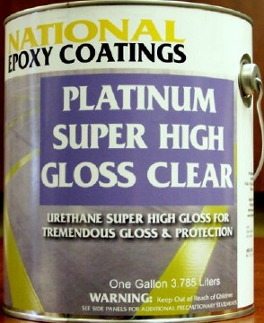 Platinum Super High Gloss Non Yellowing Floor Finish