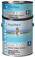 Ramuc commercial type ep epoxy swimming pool paint for Epoxy coating for swimming pools