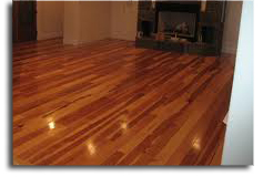 high gloss wood finish