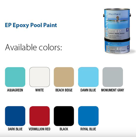 Ramuc Commercial Type EP Epoxy Swimming Pool Paint