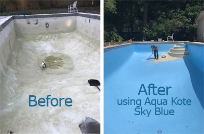 Aqua Kote Acrylic Swimming Pool Paint